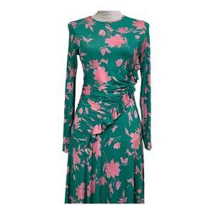 ASOS Dresses - Asos dress sheath asymmetrical ruffle ruched 6